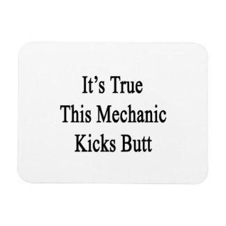 It s True This Mechanic Kicks Butt Flexible Magnets