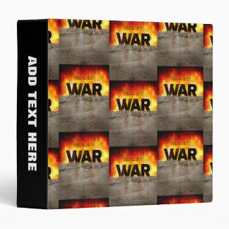 It's War Vinyl Binder