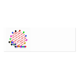 It s your Birthday Birthday Balloons Photo Frame Business Card Templates