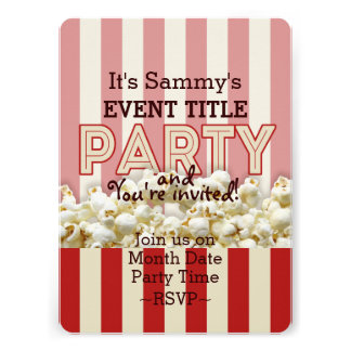 It s Your Personalized Party Supply Custom Announcements