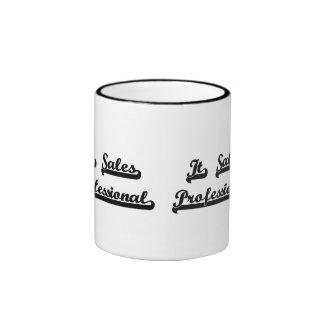 It Sales Professional Classic Job Design Ringer Coffee Mug