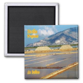 IT - Sicily - Trapani - Le Saline Magnet