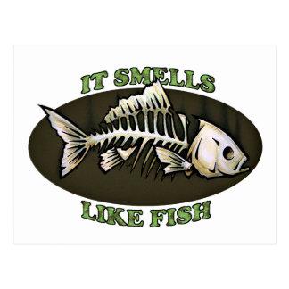 It Smells Like Fish Post Card