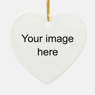 it soles Double-Sided heart ceramic christmas ornament