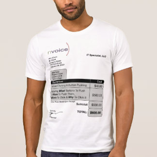 IT Specialist Light T-Shirt