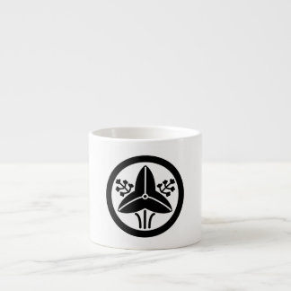 """It stands in the house crest """"circle, the water espresso cup"""