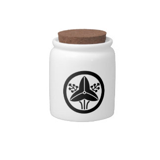 "It stands in the house crest ""circle, the water pl candy jar"