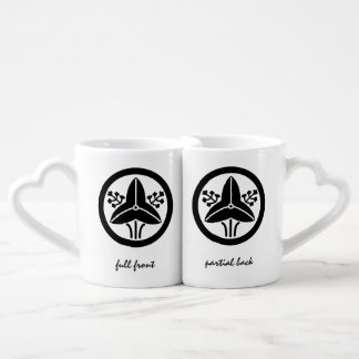 """It stands in the house crest """"circle, the water pl lovers mug sets"""