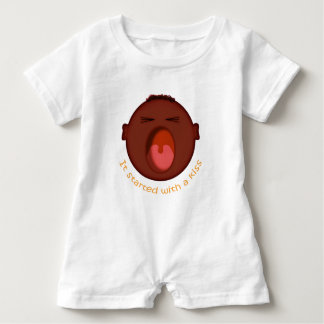 It started with a kiss... baby romper