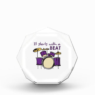 IT STARTS WITH A BEAT AWARD