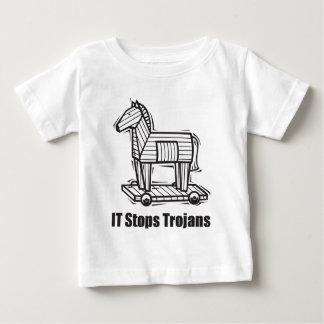 IT Stops Trojans Tee Shirt