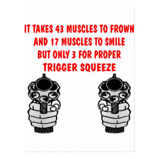 It Takes 43 Muscles To Frown 17 To Smile But Only Postcard