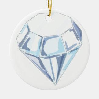 It Takes a Diamond to Cut a Diamond Ceramic Ornament