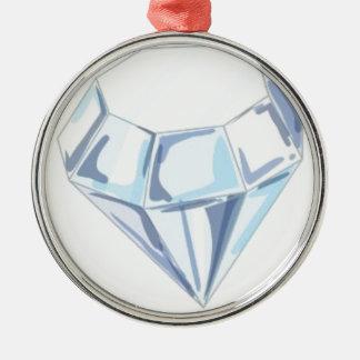 It Takes a Diamond to Cut a Diamond Metal Ornament