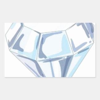 It Takes a Diamond to Cut a Diamond Rectangular Sticker