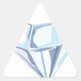 It Takes a Diamond to Cut a Diamond Triangle Sticker