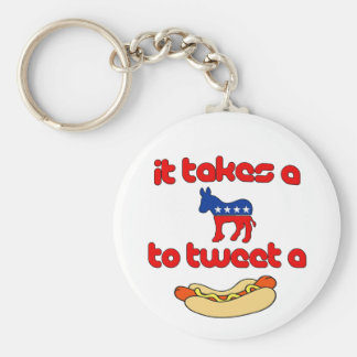 It Takes a Jackass (Democrat) To Tweet A Weiner Keychain