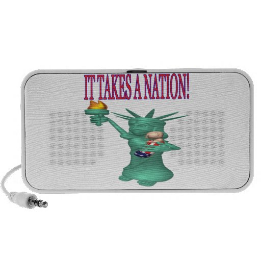 It Takes A Nation Travelling Speakers