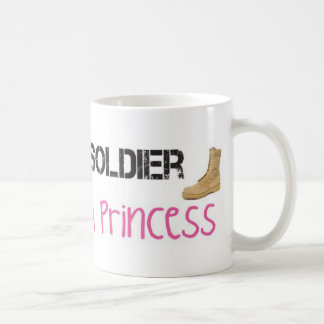 It Takes A Soldier To Love A Princess Coffee Mugs