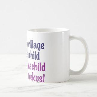 It takes a village… coffee mugs