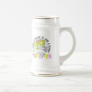 It Takes A Village Ecology Beer Stein