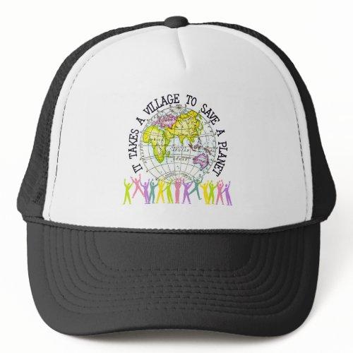 It Takes A Village Ecology Gift hat