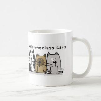It Takes a Village Homeless Cats Mug