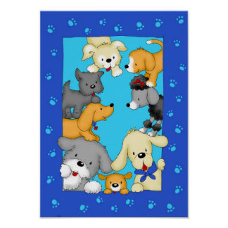 It takes all kind of dogs poster