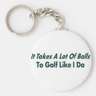 It Takes ALot of Balls Keychain