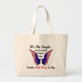 It Takes Both Wings to Fly Classic Tote Bag