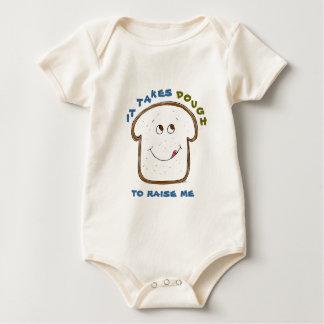 It takes Dough Baby (blue/green) Baby Bodysuit