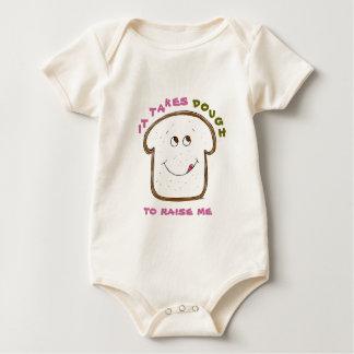 It takes Dough Baby (pink/green) Baby Bodysuit