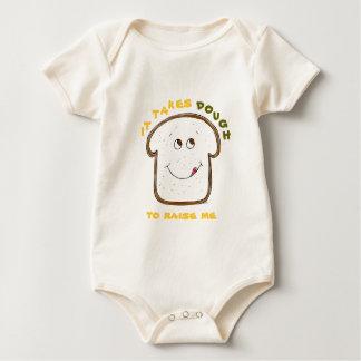 It takes Dough (yellow/green) Baby Bodysuit