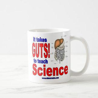 It takes GUTS to teach science Mug