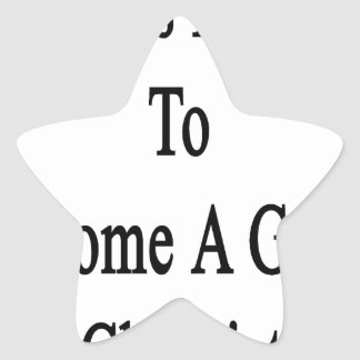 It Takes Passion To Become A Great Chemist Star Sticker