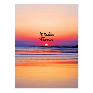 It Takes Time Postcards