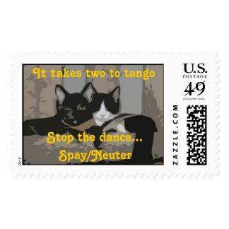 It takes two to tango... stamp