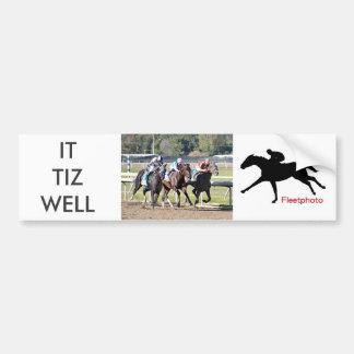 It Tiz well, Lockdown & Abel Tasman Bumper Sticker