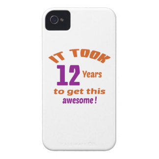 It took 12 years to get this awesome ! iPhone 4 Case-Mate case