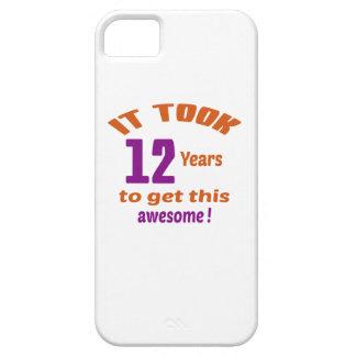 It took 12 years to get this awesome ! iPhone 5 cover