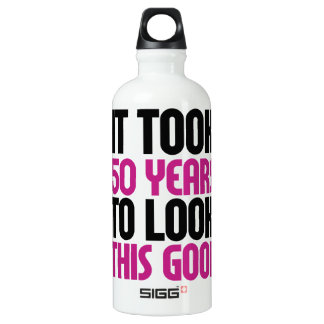 It took 50 years to look this good aluminum water bottle