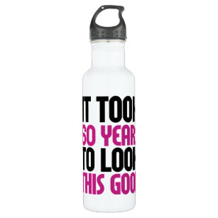 It took 60 years to look this good stainless steel water bottle