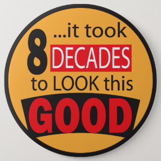 It Took 8 Decades to Look this GOOD | Birthday Button