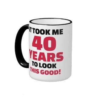 It took me 40 years to look this good ringer mug