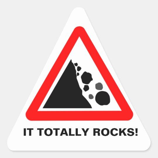 It Totally Rocks sticker