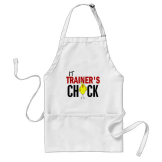 IT TRAINER'S CHICK ADULT APRON