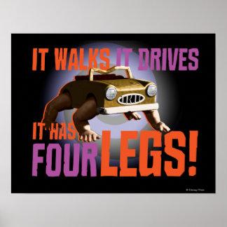 It Walks It Drives Poster
