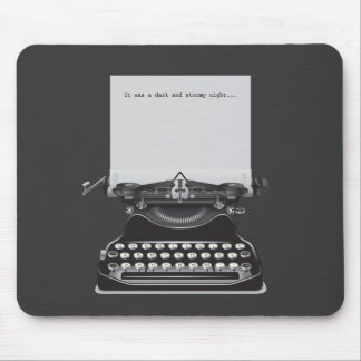It was a Dark and Stormy Night Mousepad