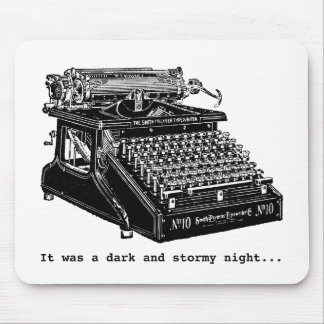 It was a Dark and Stormy Night Mouse Pads