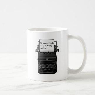 It was a dark and stormy night. mug